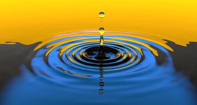 Dråpe i vann